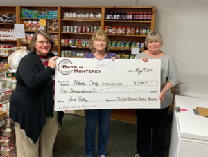 FNB donation to food pantry